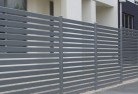Ashby Heights Boundary fencing aluminium 15