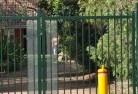 Ashby Heights Boundary fencing aluminium 30