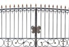 Ashby Heights Wrought iron fencing 10