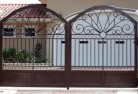 Ashby Heights Wrought iron fencing 2